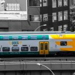 Stadler KISS auf der Stadtbahn