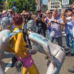 CSD 2013 in Köln - Fotografen springen an