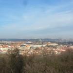 119 View from the Petřínská rozhledna (Petřín Lookout Tower)