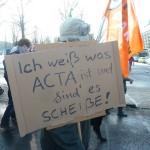 ACTA = Scheiße