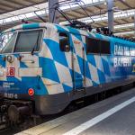 DB-Lok 111 017 - Bahnland Bayern