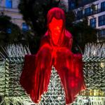 Igel-Wächter der Zeit / LUX Lichtbaum