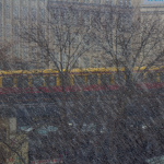 Schnee. S-Bahn. Paradoxon.
