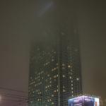 Park-Inn / Nebel / Abends