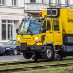 Schienenfahrt der BVG
