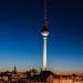 Sonnenuntergang / Blaue Stunde, 22.09.2012