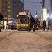 Gleise im Schnee zur GT6Z