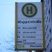 Bus/Tramhalt Wupperstr.