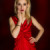 Nastia im roten Kleid