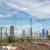 Skyline Frankfurt(Main) aus Zug geknipst