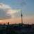 Sonnenuntergang, Eisschirm 24.08.2011