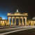 Brandenburger Tor mit Traffic Trails