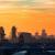 Sonnenuntergang vom Riesenrad gesehen