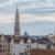 Blick zum Rathaus und zur Nationalbasilika