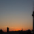 Sonnenuntergangs-Silhouette  06.05.2016