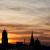 Sonnenuntergangssilhouetten 31.03.2017