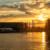 Sonnenuntergang über der Spree, 21.06.2019
