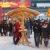 Weihnachtsmarkt auf dem Alexanderplatz im Schnee