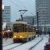 Tatra KT4D auf dem Alex im Schnee