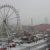 Schnee vorm Glatteis am 23.12.2012