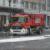 Feuerwehr-Transporter im Schnee