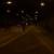 Fahrradfahrer im Tunnel BAB100