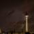 Blitz neben dem Fernsehturm